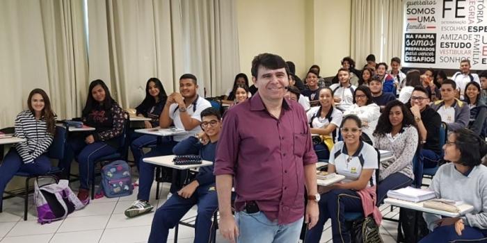 Conselheiro do Corecon-MA fala sobre o profissional de Economia para estudantes do PA
