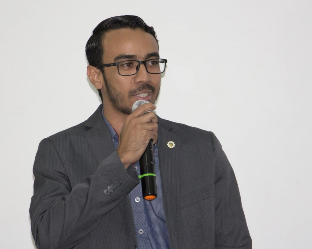 Frednan Santos, presidente do Corecon-MA, parabeniza a classe durante a abertura da Semana dos Economistas 2018