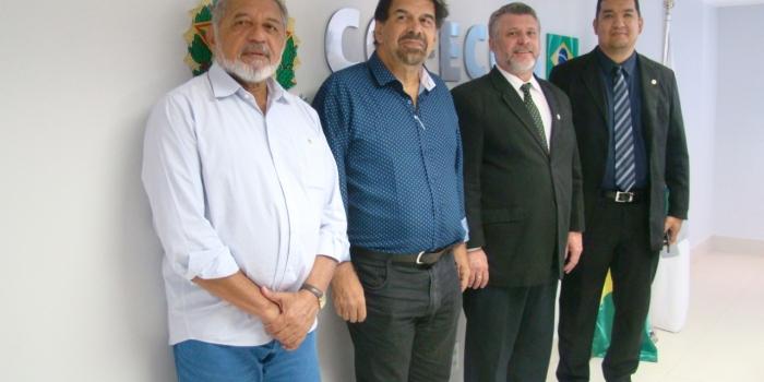 Heric Hossoé é empossado conselheiro federal e Corecon-MA apresenta pleitos em Brasília