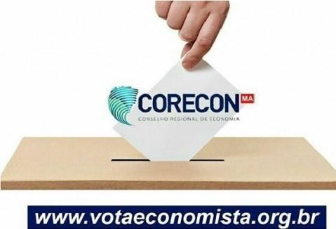 Relação de nomes do Colégio Eleitoral Definitivo do Corecon/MA